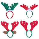 TopTie Christmas Reindeer Antlers Headband, Christmas Costume - Party Accessory