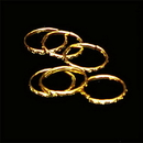 RING GOLD PLATED (36/PKG)