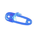 BLUE SAFETY PIN  - 4 1/2 INCHES