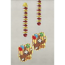 CURIOUS GEORGE HANGING DECORATION (28 IN