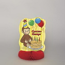 CURIOUS GEORGE CENTERPIECE (14IN.)