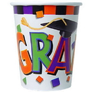GRAD CAP HOT/COLD CUPS (9OZ)
