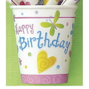 Cute Birthday Hot-Cold Cup