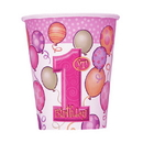 FIRST BIRTHDAY GIRL HOT/COLD CUP (9OZ)
