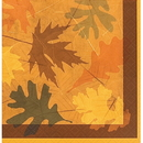 TURNING LEAVES BEVERAGE NAPKIN