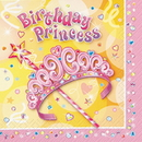 PRETTY PRINCESS LUNCHEON NAPKIN