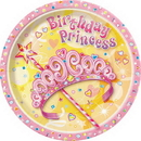 PRETTY PRINCESS DESSERT PLATE (7
