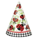 Lively Ladybugs Party Hats