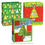 O'Christmas Tree Gift Bag Asst Lrg (3/Ct