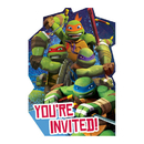Teenage Mutant Turtles Invites