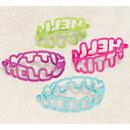 HELLO KITTY RAINBOW RUBBER BRACELET