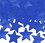 BLUE STAR CONFETTI (1 OZ.)