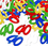 40TH CONFETTI MULTI-COLOR