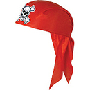 FELT PIRATE SCARF HAT-RED
