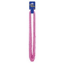 CERISE SMALL ROUND PARTY BEADS (12/PK)