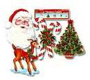CHRISTMAS CUTOUT DECORATIONS (16IN.) *