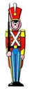 TOY SOLDIER CUTOUT (36IN.) *