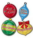 CHRISTMAS ORNAMENT DECORATIONS (16IN.) *