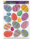 EASTER EGGS WINDOW MAGNETS