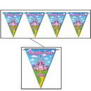 PRINCESS PARTY PENNANT BANNER