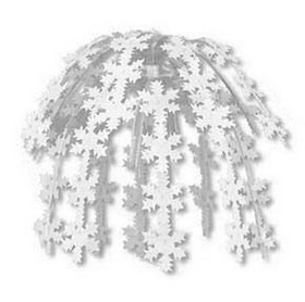 SNOWFLAKE CASCADE DECORATION (24IN.) *