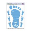 BIRTH ANNOUNCEMENT PEEL 'N PLACE BLUE