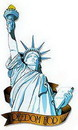 STATUE OF LIBERTY  DECORATION (33IN.)