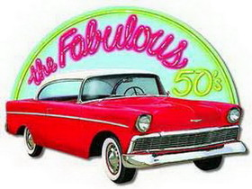FABULOUS 50'S (55 CHEVY) DECORATION