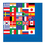 International Flag Lunch Napkin