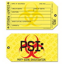 PSI TOE TAG INVITATIONS