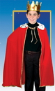 CHILD'S KING/QUEEN RED ROBE W/CROWN