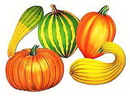 FALL DECORATIONS (16IN.-5/PKG)