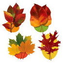 AUTUMN LEAF CUTOUT DECORATION