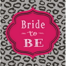 BRIDAL BASH LUNCH NAPKIN