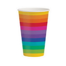 RAINBOW PARTY 12 OZ HOT-COLD CUPS