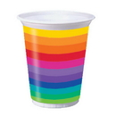RAINBOW PARTY 16 OZ PLASTIC CUP