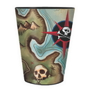 PIRATE'S MAP SOUVENIR CUP 16 OZ