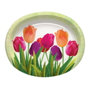055203 Spring In Bloom Oval Platter