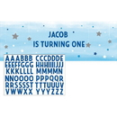 322245 One Little Star - Boy Party Banner