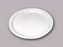 6IN. WHITE ECONOMY PAPER PLATE (100CT)