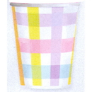 COLORFUL GINGHAM HOT/COLD CUP