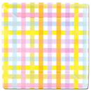 COLORFUL GINGHAM SQUARE 10