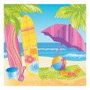 SURFS UP BEVERAGE NAPKIN