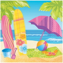 SURFS UP LUNCHEON NAPKIN