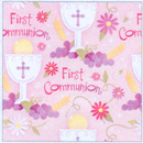 PINK COMMUNION GIFT WRAP ROLL
