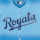 KANSAS CITY ROYALS LUNCHEON NAPKIN