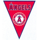 LA ANGELS PENNANT BANNER