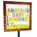 FISHER PRICE BABY LAWN SIGN