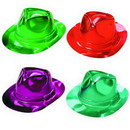 Bright Metallic Fedoras Hat