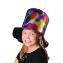 Metallic Multicolor Top Hat